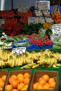 Market Stall fruit and veg